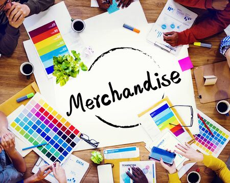 merchandise: Merchandise Marketing Commercial Shopping Retail Concept