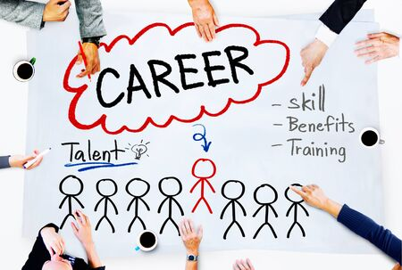skill: Career Talent Skill Talent Benefits Occupation Concept