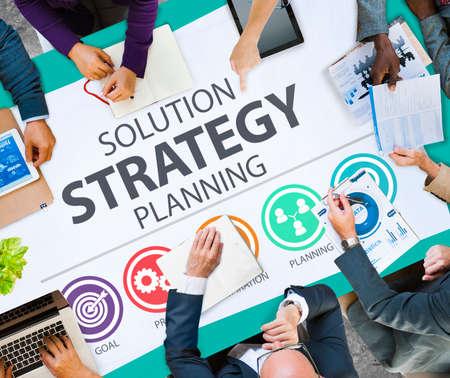 innovacion: Objetivos de la estrategia de negocio de soluciones de concepto de éxito