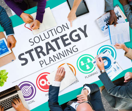 innovation: Strategy Business Goals Solution Success Concept