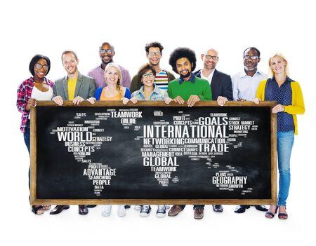 globalization: International World Global Network Globalization International Concept