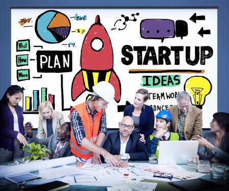 innovation growth: Start Up Business Plan Development Vision Concept