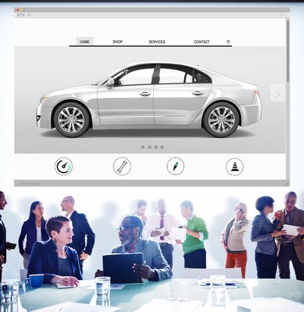 automobile dealer: Car Automoblie Transportation Vehicle Elegance Concept Stock Photo