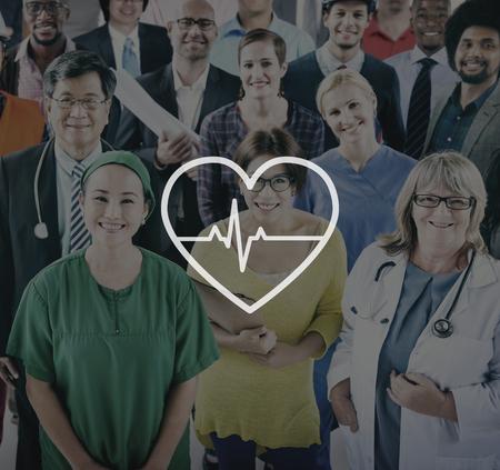 heartbeat: Heartbeat Healthcare Life Health Cardiogram Concept