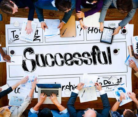 accomplishment: Successful Goal Target Achievement Accomplishment Concept