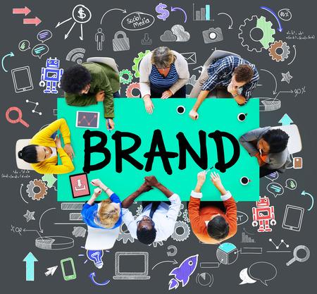 branding: Brand Commercial Marketing Product Branding Concept