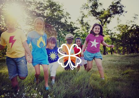 irish ethnicity: Green Clover Leaf Environmental Inspiration Concept