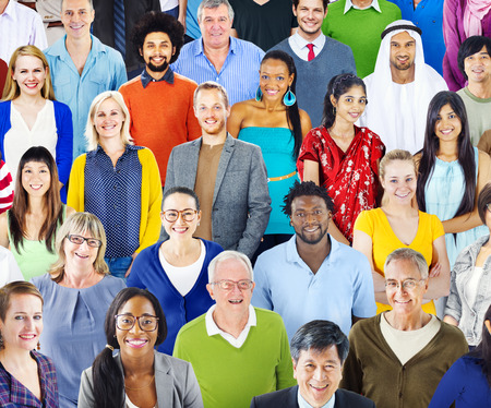 ethnicity: Diverse Diversity Ethnic Ethnicity Togetherness Unity Concept