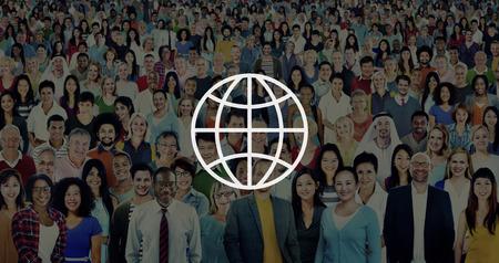 ethnicity: Global Community International Worldwide World Connected