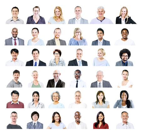 real: Group of Multiethnic Diverse Business People Concept