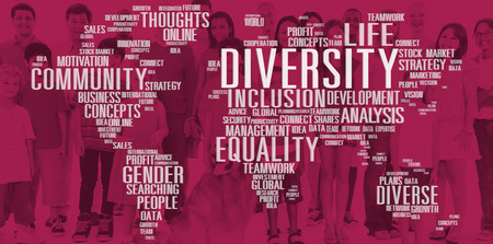 Diverse Equality Gender Innovation Management Concept Imagens