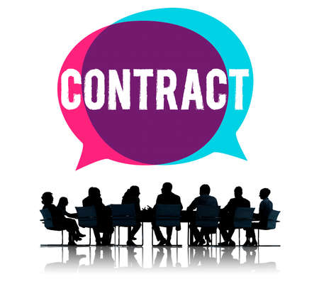 table: Contract Legal Occupation Partnership Deal Concept