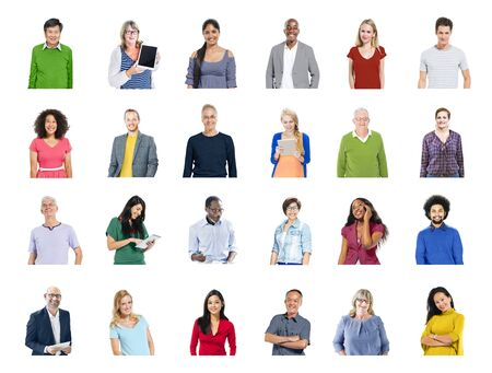communications technology: Diverse People Global Communications Technology Concept Stock Photo
