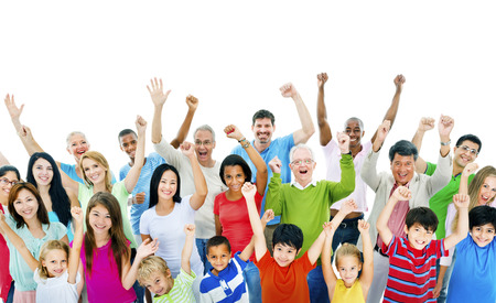 Group of People Community Celebration Happiness Concept Stock Photo - 49326490