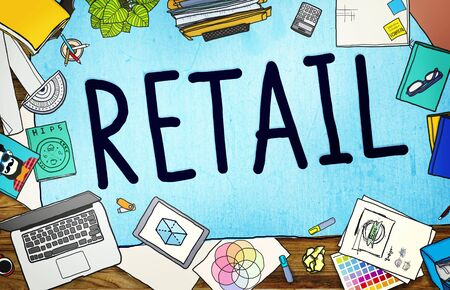 retail: Retail Market Price Consumer Buying Concept Stock Photo