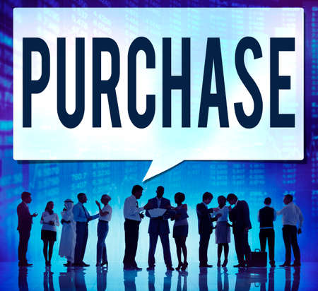 commerce: Purchase Retail Commerce Marketing Concept Stock Photo