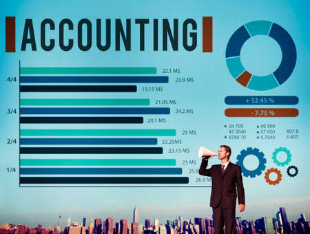 auditing: Accounting Finance Auditing Money Banking Concept