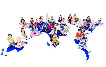 children learning: Children Kids Ethnicity Community Communication Concept