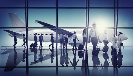 piloto: Aeropuerto Piloto Tripulación Profesional Ocupación Concepto Foto de archivo