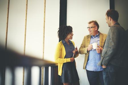 사람들: 비즈니스 팀 커피 브레이크 개념을 휴식 스톡 콘텐츠