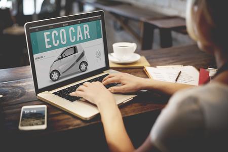 eco innovation: Eco Car Electrical Energy Fuel Hybrid Innovation Plug Concept