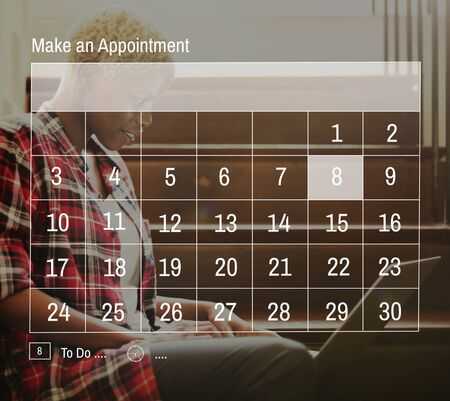 appointment: Calender Make Appointment Organization Management Concept