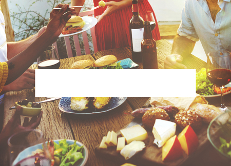 outdoor dining: Rectangle Copy Space Bar Blank Rectangular Concept