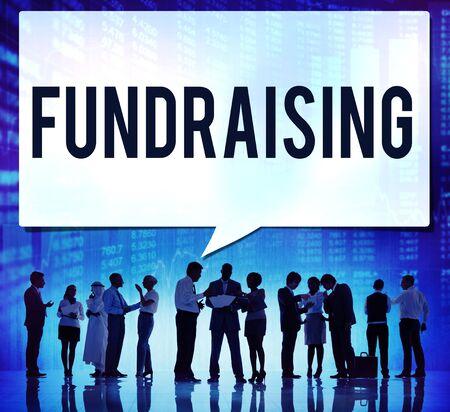fundraising: Fundraising Funding Finance Economy Donation Concept