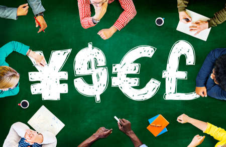 currencies: Money Currency Symbol Finance Exchange Concept