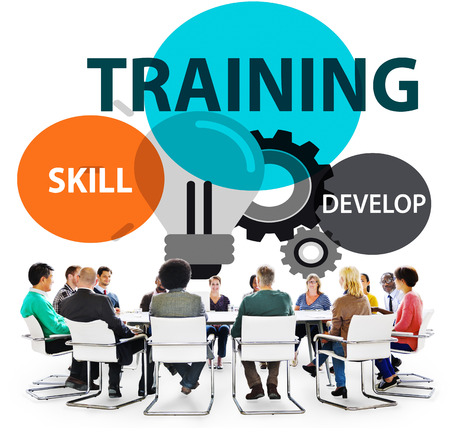 Training Skill Develop Ability Expertise Concept Фото со стока - 49487351