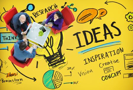 knowledge concept: Ideas Innovation Creativity Knowledge Inspiration Vision Concept