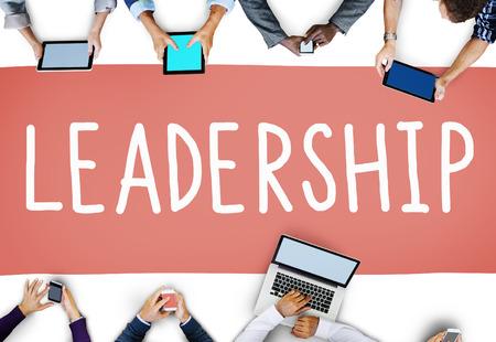 trainer device: Leadership Leader Lead Manager Management Concept
