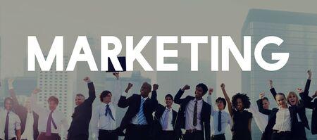 business media: Marketing Analysis Branding Advertisement Business Concept