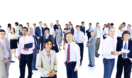 Business People Corporate Working Colleauges Group