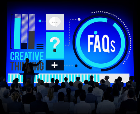 asked: Frequently Asked Questions FAQ Problems Concept
