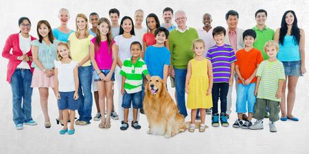 community group: People Community Diversity Crowd Concept