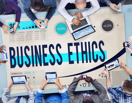 business ethics: Business Ethics Integrity Moral Responsibility Concept