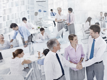 social grace: Business People Workplace Office Colleagues Corporate Concept