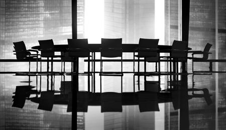 会議テーブル会議ルームのコンセプト