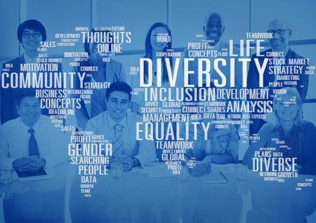 Diverse Equality Gender Innovation Management Concept Stock Photo