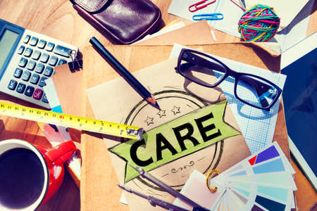 protect: Care Protect Secure Healthcare Service Concept