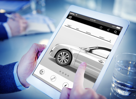network marketing: Car Automoblie Transportation Vehicle Elegance Concept Stock Photo