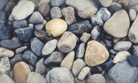 multi colored: Multi Colored Pebbles rocks Backgrounds Concept Stock Photo