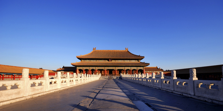 Forbidden City Chinese cultuur Ancient Concept Stockfoto - 49656571