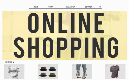 Online shopping homepage design