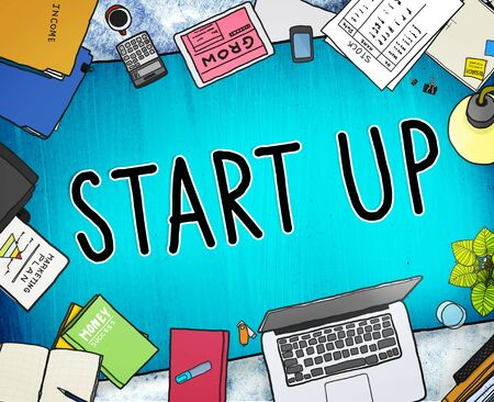 business opportunity: Start up Business Opportunity Development Success Concept Stock Photo