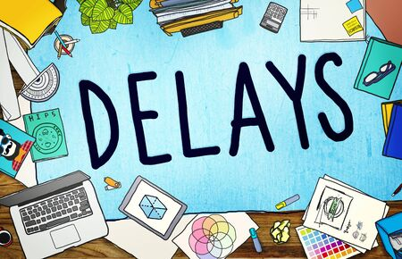 hesitation: Delays Interruption Late Obstruction Suspend Concept