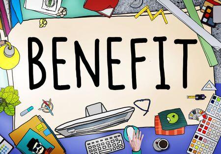 Benefit Income Incentive Profit Bonus Concept