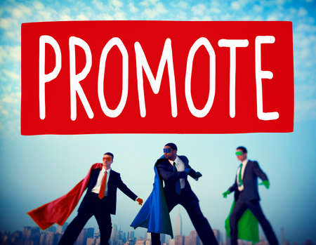 promote: Promote Commerce Announcement Marketing Product Concept