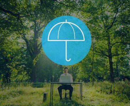 shielding: Umbrella Weather Protection Environment Shielding Concept